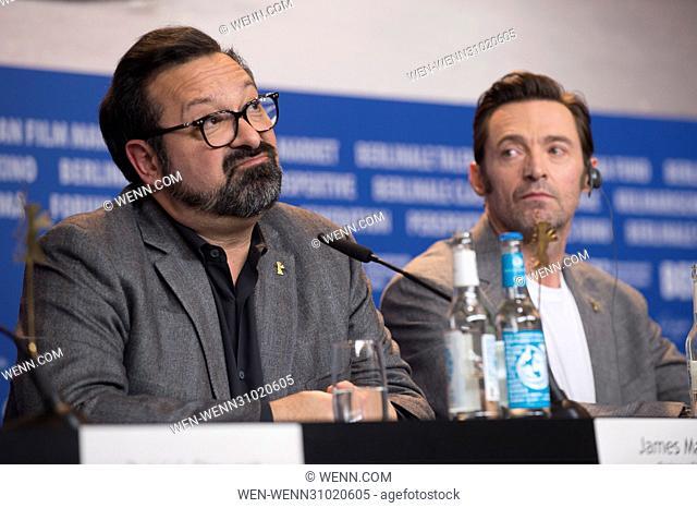 67th International Berlin Film Festival (Berlinale) - Logan - Press Conference Featuring: James Mangold, Hugh Jackman Where: Berlin