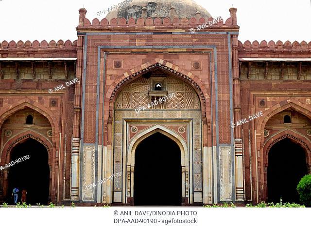 Quila-I-Kuhna Masjid, Sher Shah, Purana Qila, 1538 A.D. Delhi, India