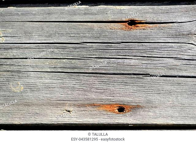 Old wooden wall as texture and background