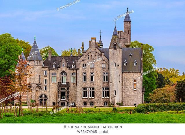 Bornem Castle in Belgium - architecture background