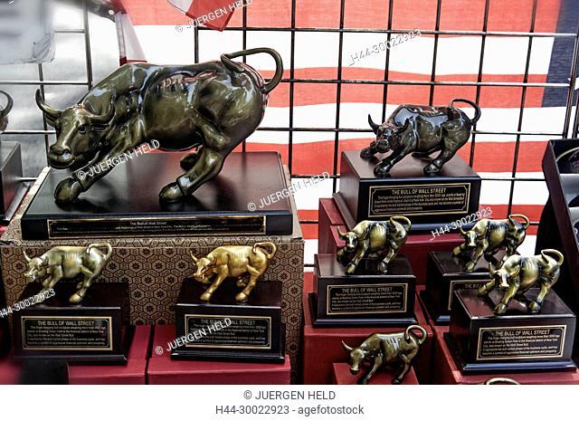 The Bull of Wall Street, Souvenirs, Manhattan, New York