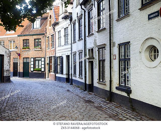 Minnewater - Bruges, Belgium