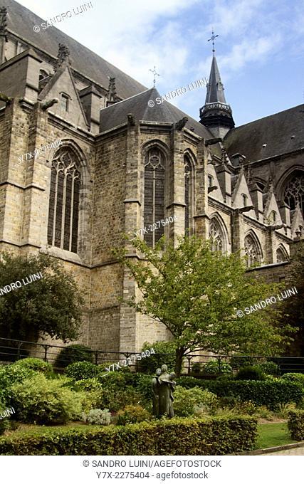 La Collégiale Sainte Waudru, Mons, Belgium