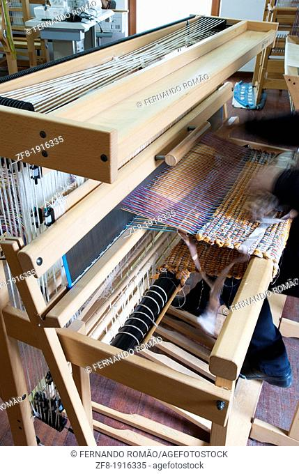 Manual Loom at Fundão, Portugal