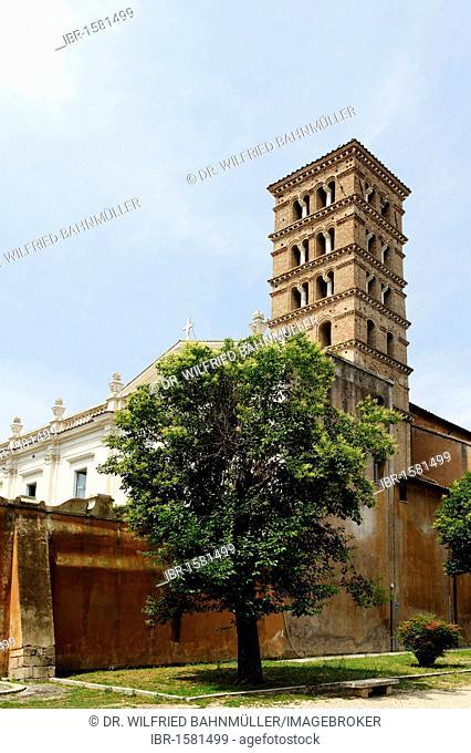 Santi Bonifacio e Alessio, Aventine, Ripa, Rome, Italy, Europe