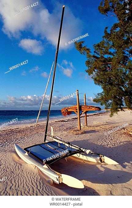 Beach of Curacao, Caribbean Sea, Curacao