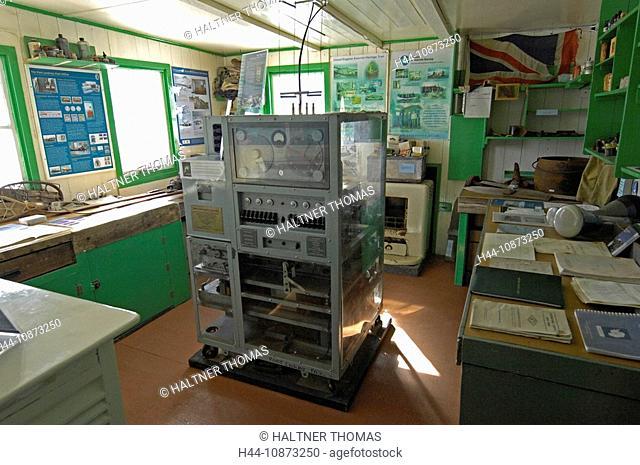 Antarctica,Antarctic,port Lockroy,British Antarctica Territory,station,measuring instruments,research