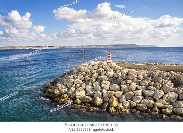 Malta, Gozo. Mgarr Harbor