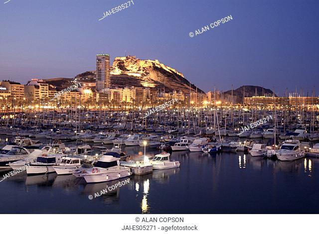 Marina, Alicante City, Costa Blanca, Spain