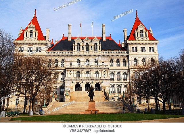 The New York State House, Albany