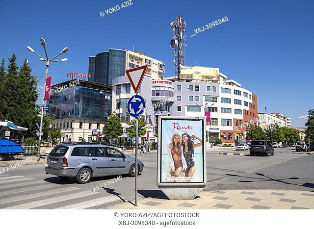 Albania, Shkoder, centre town