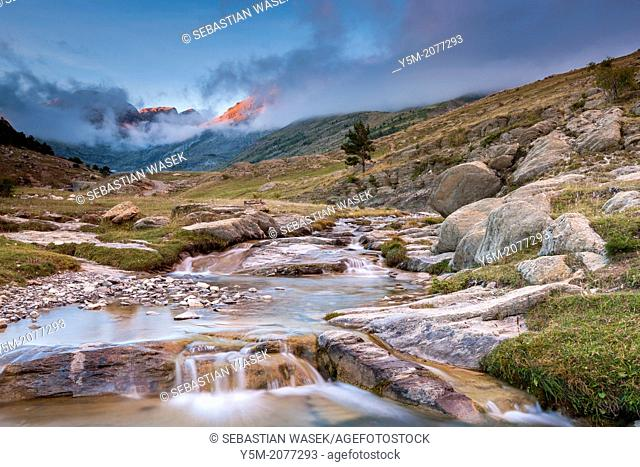 Aisa valley, Parque Natural de los Valles Occidentales, Jacetania, Pyrenees, Huesca province, Aragon, Spain, Europe