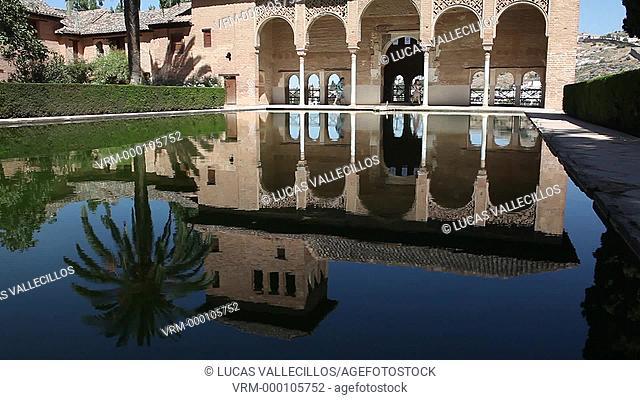 Partal, Torre de las Damas, Alhambra, Granada, Andalucia, Spain
