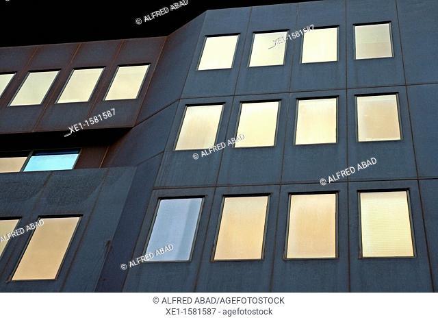 office building on Balmes Street, Barcelona, Catalonia, Spain