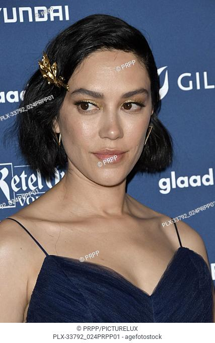 Mishel Prada at the 30th Annual GLAAD Media Awards held at the Beverly Hilton Hotel in Beverly Hills, CA on Thursday, March 28, 2019