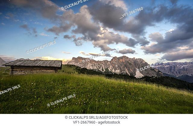 Mountain landscape, Dolomites, South Tyrol, Italy