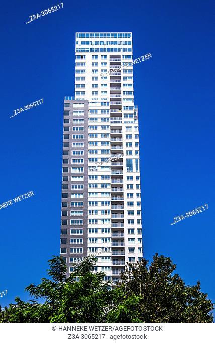 UP-site skyscraper, Brussels, Belgium, Europe