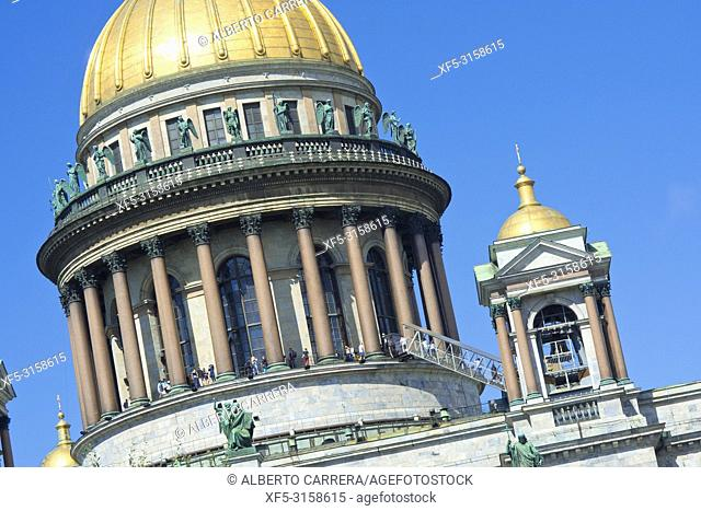 Saint Isaac's Cathedral, Saint Petersburg, UNESCO World Heritage, Russia