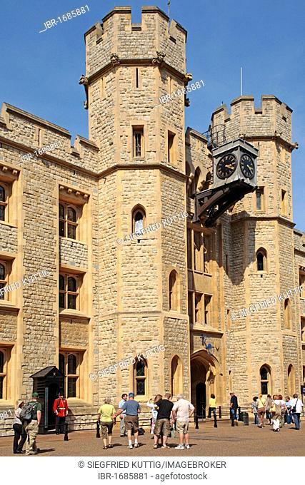 Waterloo Barracks at the Tower of London, Great Britain, Europe