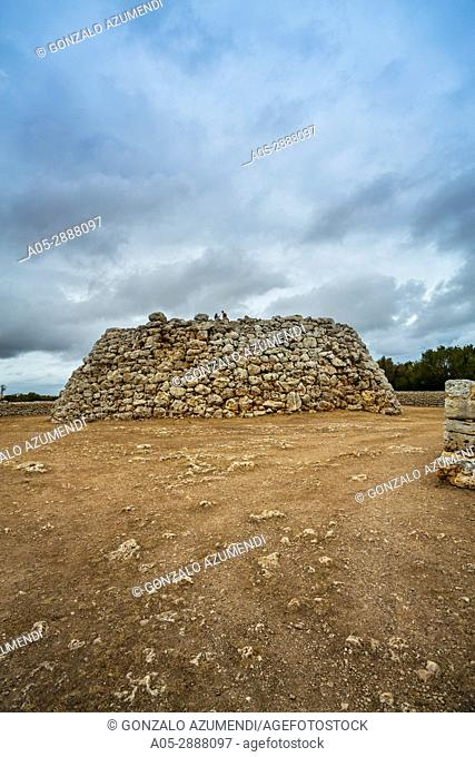 Talayotic Village of Trepuco (800-450 b C). Mao Municipality. Minorca Island. Balearic Islands. Spain