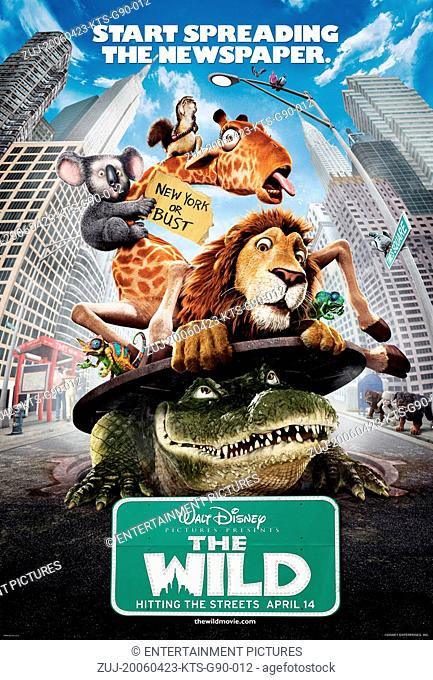 RELEASE DATE: April 14, 2006. MOVIE TITLE: The Wild. STUDIO: Contrafilm. PLOT: An adolescent lion is accidentally shipped from the New York Zoo to Africa