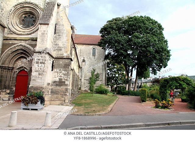 Saint Etienne romanesque church, Beauvais, Oise, Picardy, France