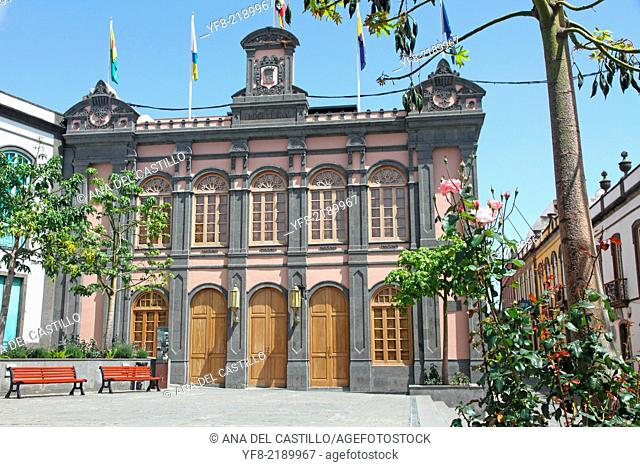 Arucas town hall in Gran Canaria, Canary islands, Spain
