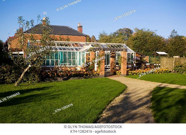 Hill Close Gardens, Warwick, Warwickshire, England