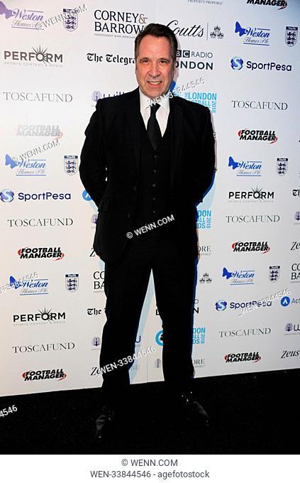 2018 London Football Awards at Battersea Evolution Featuring: David Seaman Where: London, United Kingdom When: 01 Mar 2018 Credit: WENN.com