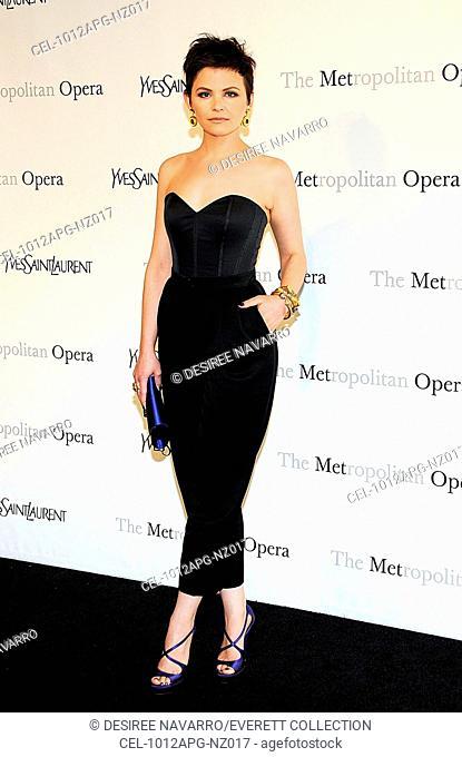 Ginnifer Goodwin (wearing Yves Saint Laurent) at arrivals for Metropolitan Opera of New York ARMEDA Opening Night Sponsored by Yves Saint Laurent