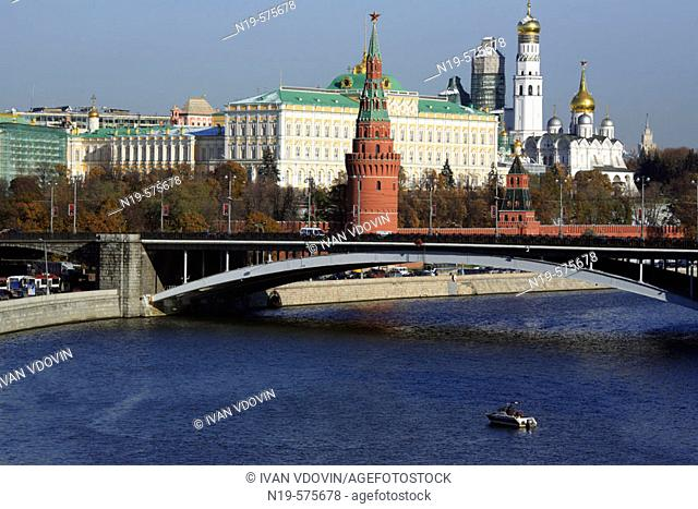 View on Kremlin, Moscow, Russia