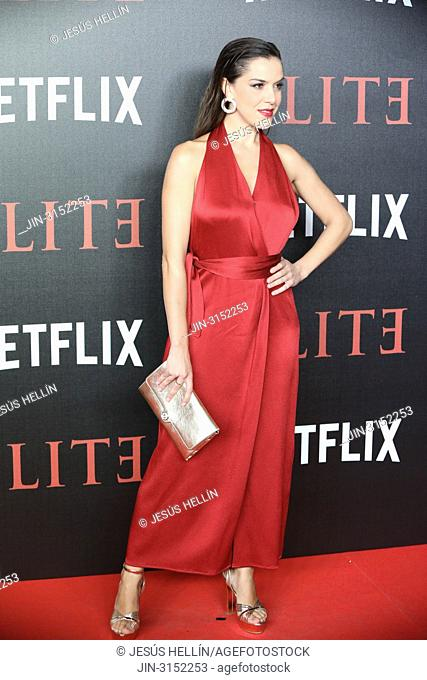 Singer ROKO attend 'Elite' premiere at Reina Sofia Museum. Premiere of the Élite series, which premieres Netflix -it is its second Spanish original series- this...
