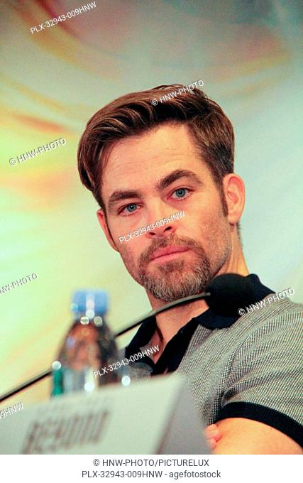 Chris Pine 07/14/2016 Star Trek Beyond Press Conference held at the Four Seasons Los Angeles at Beverly Hills in Los Angeles