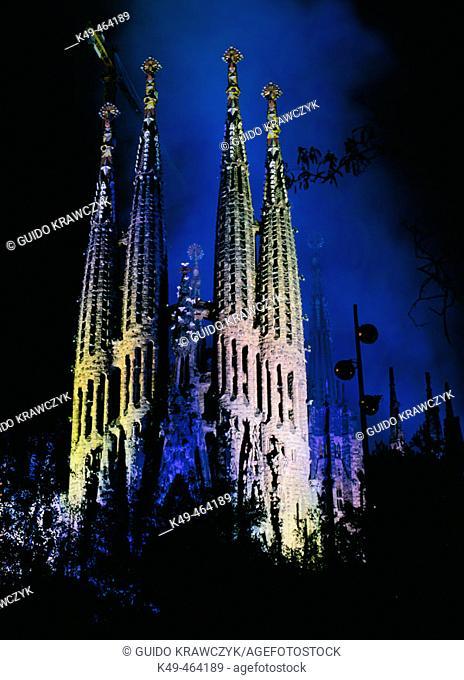 Sagrada Familia. Barcelona. Catalonia. Spain