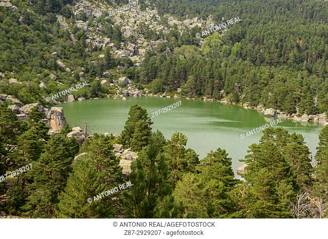 Laguna Negra. Parque natural de Sierra de Urbión y Laguna Negra. Soria province, Castile-Leon, Spain