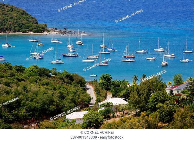 Falmouth bay, Antigua