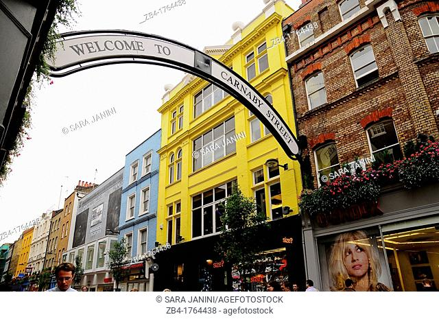 Carnaby, London, England, UK, Europe