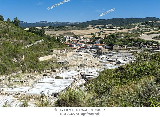 Salinas de Añana, Alava, Basque Country, Spain