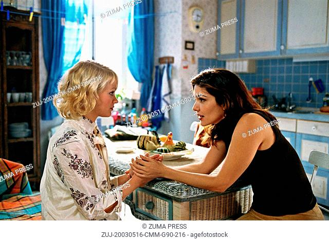 May 16, 2003; Paris, France; LAURA ELENA HARRING (right) as Paula in the thrilling romantic drama film 'The Poet' directed by Paul Hills