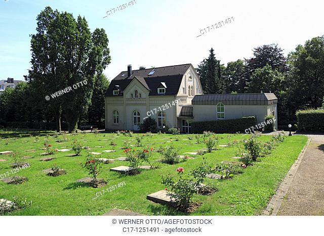 Germany, Wuppertal, Wupper, Bergisches Land, North Rhine-Westphalia, NRW, Wuppertal-Elberfeld, Netherlandish Reformed church, evangelic church, churchyard