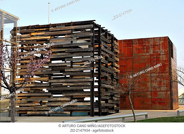 Contemporary Sculpture, formerly EXPO 2008. Zaragoza, Spain