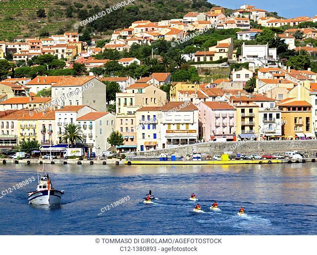France, Cote Vermeille, Port Vendres