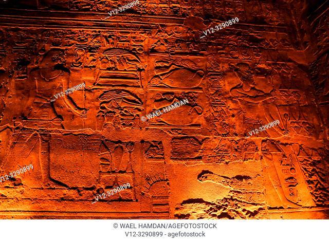 Luxor temple, Luxor city, Egypt