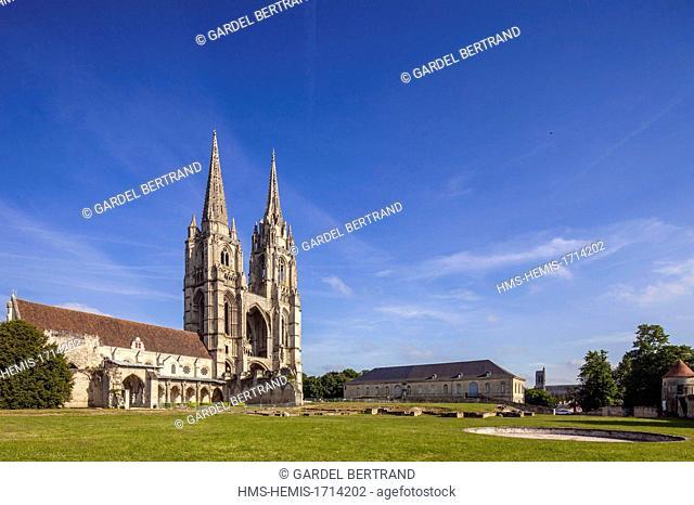 France, Aisne, Soissons, abbey of Saint Jean des Vignes