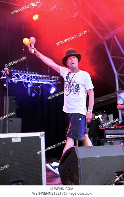 Godiva Festival - Day 2 - Performances Featuring: Bez,Mark Berry Where: Coventry, United Kingdom When: 05 Jul 2014 Credit: WENN.com