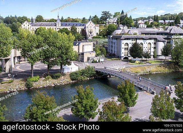 Sanctuary of Lourdes, Lourdes, Hautes-Pyrenees department, Occitanie, France