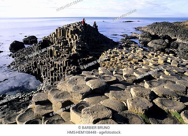 United Kingdom, Northern Ireland, Antrim county, the Giants Causeway