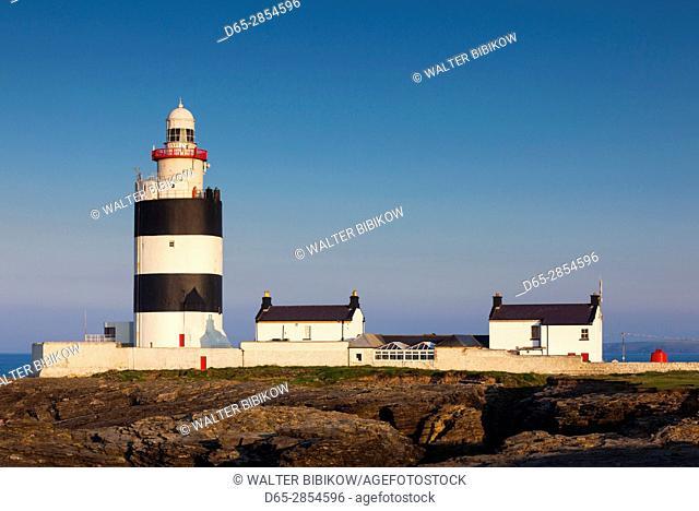 Ireland, County Wexford, Hook Peninsula, Hook Head, Hook Head LIghthouse, dawn