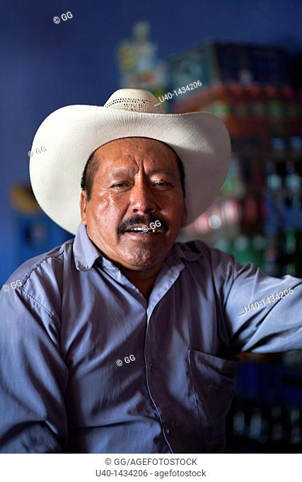 Guatemala, Huehuetenango, Mayan man