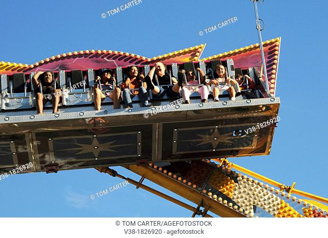 carnival ride in Greenbelt, Maryland